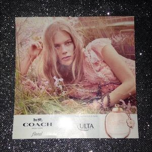 FREE W/ ANY PURCHASE Coach Double-Sided Sample
